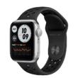 Apple Watch SE 40mm Silver Alumínium Nike Black Sport Band GPS