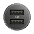 Bases Small 3.A Car Charger Black