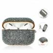 Kingxbar Crystal Fabric Glitter AirPods Pro Silver