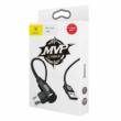 Baseus Type -C MVP Elbow Type Cable (1m) Black
