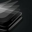 Baseus 0.23mm Edzett üveg fekete iPhone 8 Plus