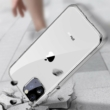 Baseus Simple Series átlátszó gél tok fekete iPhone 11