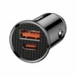 Baseus Circular PPS Universal Quick Car Charger 4.0 Black