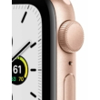 Apple Watch SE 40 mm Gold Aluminum Case Pink Sport Band GPS
