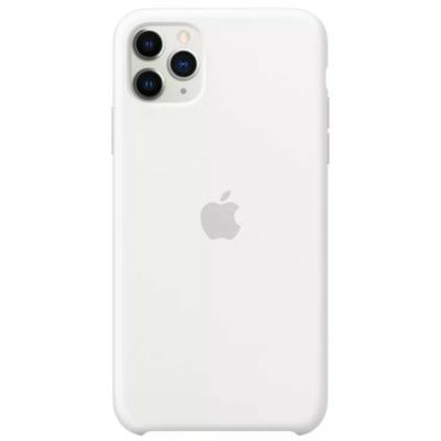 Apple iPhone 11 Pro Max Silicone White Case