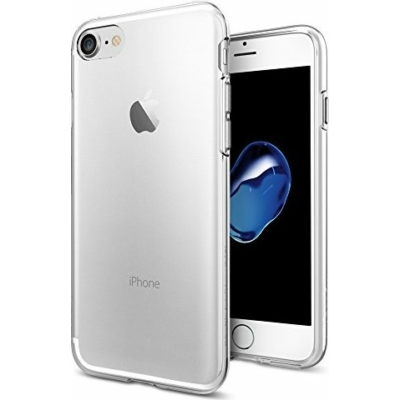 Spigen iPhone SE (2020)/8/7 Liquid Crystal Crystal Clear Case