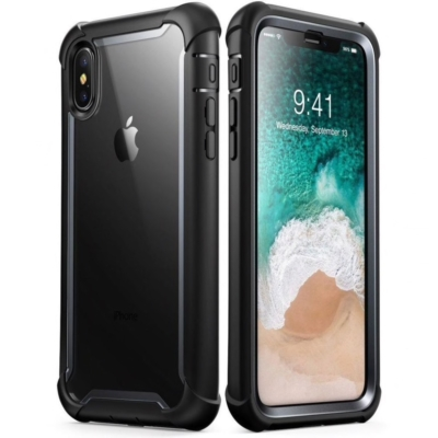 SupCase iPhone Xs Ares Black Case