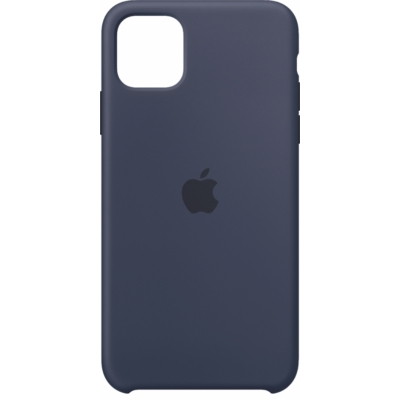 Apple iPhone 11 Pro Max Silicone Midnight Blue Case