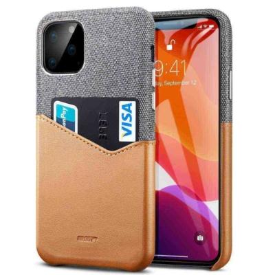 ESR iPhone 11 Pro Max Metro Wallet Brown Case