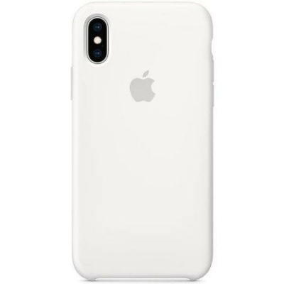 Apple iPhone X/XS Silicone White Case