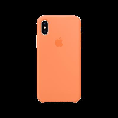 Apple iPhone X/XS Silicone Papaya Case