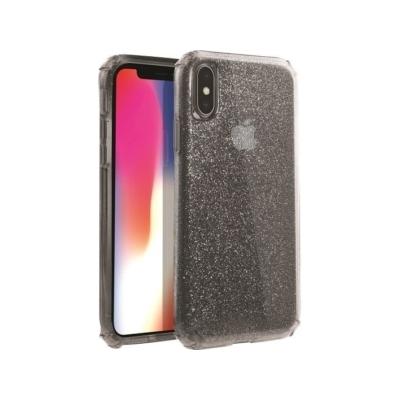 UNIQ iPhone X/XS Glitter Black Case
