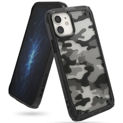 Ringke iPhone 12 Mini Fusion X Camo Black Case