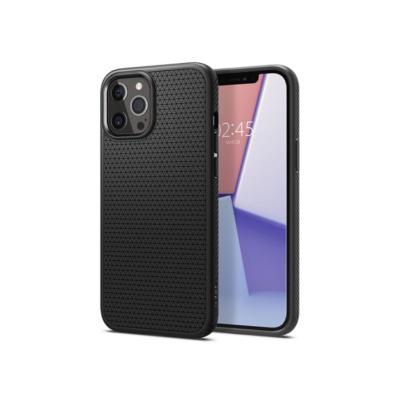 Spigen iPhone 12 Pro Max Liquid Air Black Case