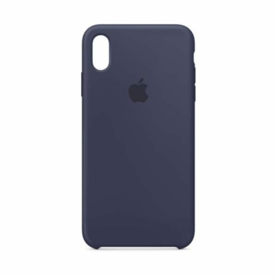 Apple iPhone XS Max Silicone Midnight Blue Case