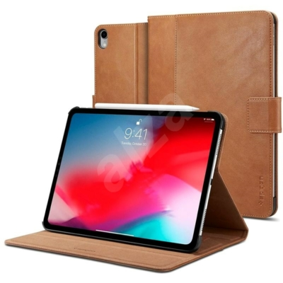 """Spigen iPad Pro 11"""" (2018) Stand Folio Brown Case"""