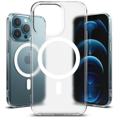 Ringke iPhone 13 Pro Fusion Magnetic MagSafe Matte Clear Case