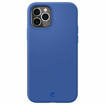 Spigen Cyrill Silicone iPhone 12 Pro / iPhone 12 Navy
