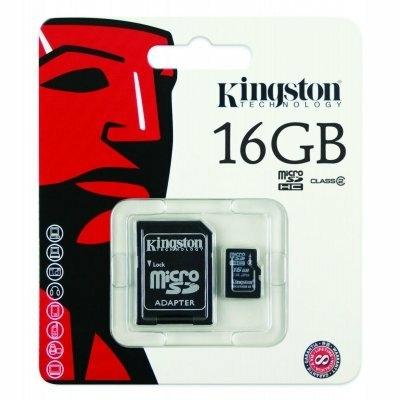Kingston Micro Canvas Select Plus microSD Card SDCS 16GB