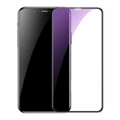 Baseus 0.3 mm Full-screen and Full-glass Anti-bluelight iPhone X