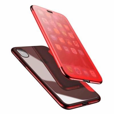 Baseus Touchable Gél tok piros iPhone X