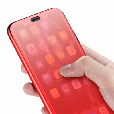 Baseus Touchable Gél tok piros iPhone XS Max
