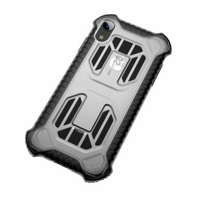 Baseus Cold Front Cooling szellőzőnyílással szürke iPhone XR