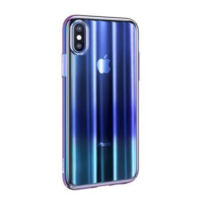 Baseus Aurora tok kék iPhone XS Max