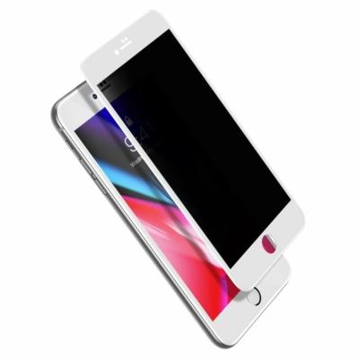 Baseus 0.23mm Edzett üvegfólia fehér iPhone 7 Plus