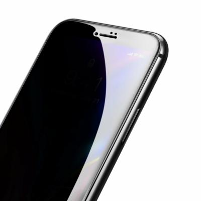 Baseus 0.23mm Edzett üveg fekete iPhone 8