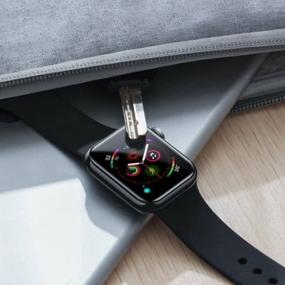 Baseus 0.2mm Full-glass Üvegfólia Apple Watch 4 (44mm)