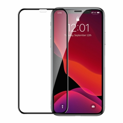 Baseus 0.23 mm curved-screen edzett üveg iPhone XS Max