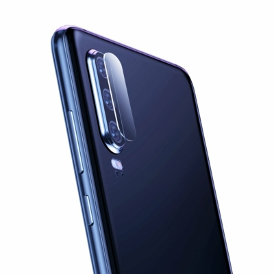 Baseus 2x 0.2mm Objektívvédő üvegfólia Huawei P30