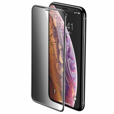 Baseus Full-screen Full Coverage 3D Edzett sötétített üvegfólia iPhone X