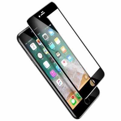 Baseus Tempered Üvegfólia fekete iPhone 8