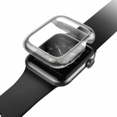 UNIQ Garde védőtok Apple Watch 5-ös 44mm-es / 4-es 44mm-es órához, szürke