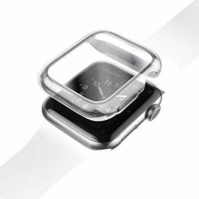 UNIQ Garde védőtok Apple Watch 5-ös 44mm-es / 4-es 44mm-es órához, átlátszó