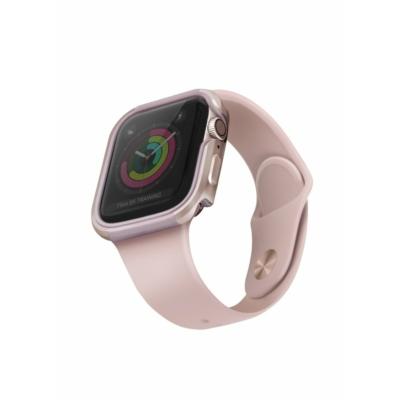 UNIQ Valencia Védőtok Apple Watch 5 44mm / Watch 4 44mm rózsaszín