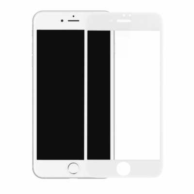 Baseus Pet Soft 3D Üvegfólia fehér iPhone SE 2020