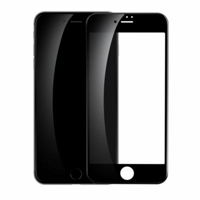 Baseus 0.23mm curved-screen edzett üveg fekete iPhone SE 2020