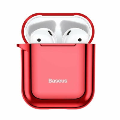 Baseus Shining Gél tok Airpods 1/2 Piros