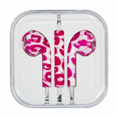 Vezetékes fülhallgató rózsaszín