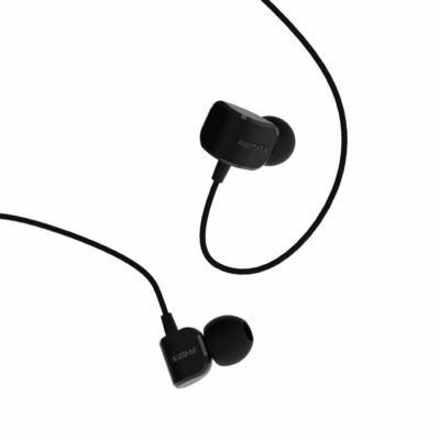 Remax In-line fekete fülhallgató