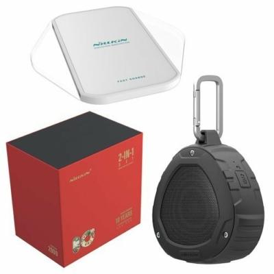 Nillkin Gift Set Wireless Bluetooth Speaker fekete