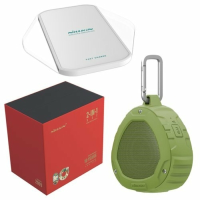 Nillkin Gift Set Wireless Bluetooth Speaker zöld