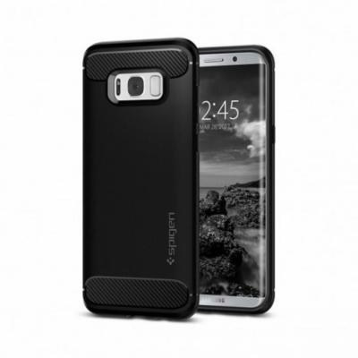 Spigen Rugged Armor Galaxy S8 Fekete