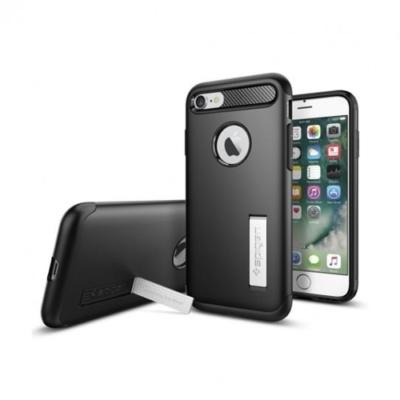 Spigen Rugged Armor iPhone 7 / 8 Fekete