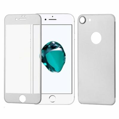 WOZINSKY Tempered Glass Edge to Edge iPhone 7 ezüst