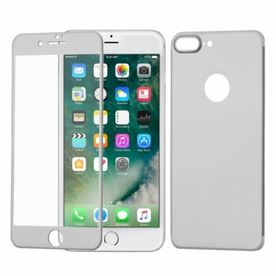 WOZINSKY Tempered Glass Edge to Edge iPhone 7 Plus ezüst