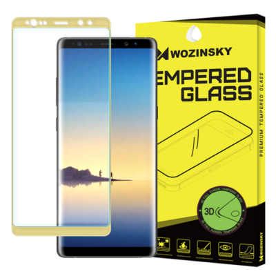 Wozinsky Tempered 3D üvegfólia Samsung Galaxy Note 8 arany